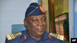 Alex Badeh, ancien chef d'état-major des armées du Nigeria.