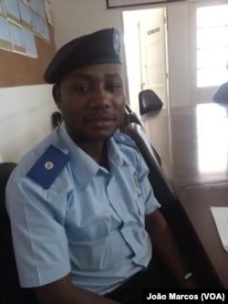 Fernando Maria, porta-voz do Serviço de Migração e Estrangeiros em Benguela, Angola