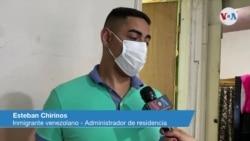 Esteban Chirinos, inmigrante venezolano