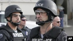 Pripadnici američke Službe za imigraciju i carinu (ICE)