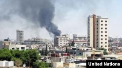 叙利亚霍尔姆斯市中心