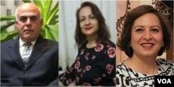 سپیده کشاورز، میترا بدرنژاد و فرج الله بنگاله سه نفر از کسانی است که هفته های اخیر بازداشت شدند.