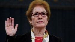 Impeachement: l'ex-ambassadrice américaine à Kiev devant le congrés