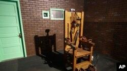 Desde 1924 y 1964, 361 hombres murieron en la silla eléctrica. Esta silla se exhibió en el museo de la prisión en Texas.