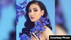 Fashion model M Seng Lu