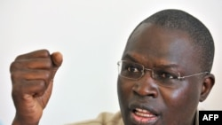 "Khalifa Sall de ""Benno Siggil Senegal"", Dakar, le 19 mars 2009"