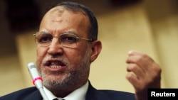今年5月25日伊萨姆.埃里安在穆斯林兄弟会的一次会议上讲话(资料照片)