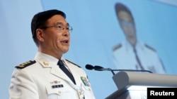 中国中央军委联合参谋部副参谋长孙建国在新加坡的香格里拉对话会议上发言(2016年6月5日)