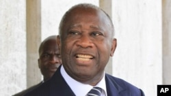 Ivory Coast's incumbent president Laurent Gbagbo (Dec 2010 file photo)