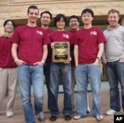 Stanford's team solved five of 11 problems, finishing in 14th place, along with 21 other teams.