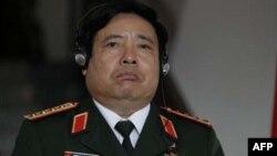 """Ông Thanh nói rằng cuộc giao lưu hữu nghị Việt – Trung trên biên giới """"thể hiện quyết tâm cao trong hợp tác quốc phòng gữa hai nước""""."""