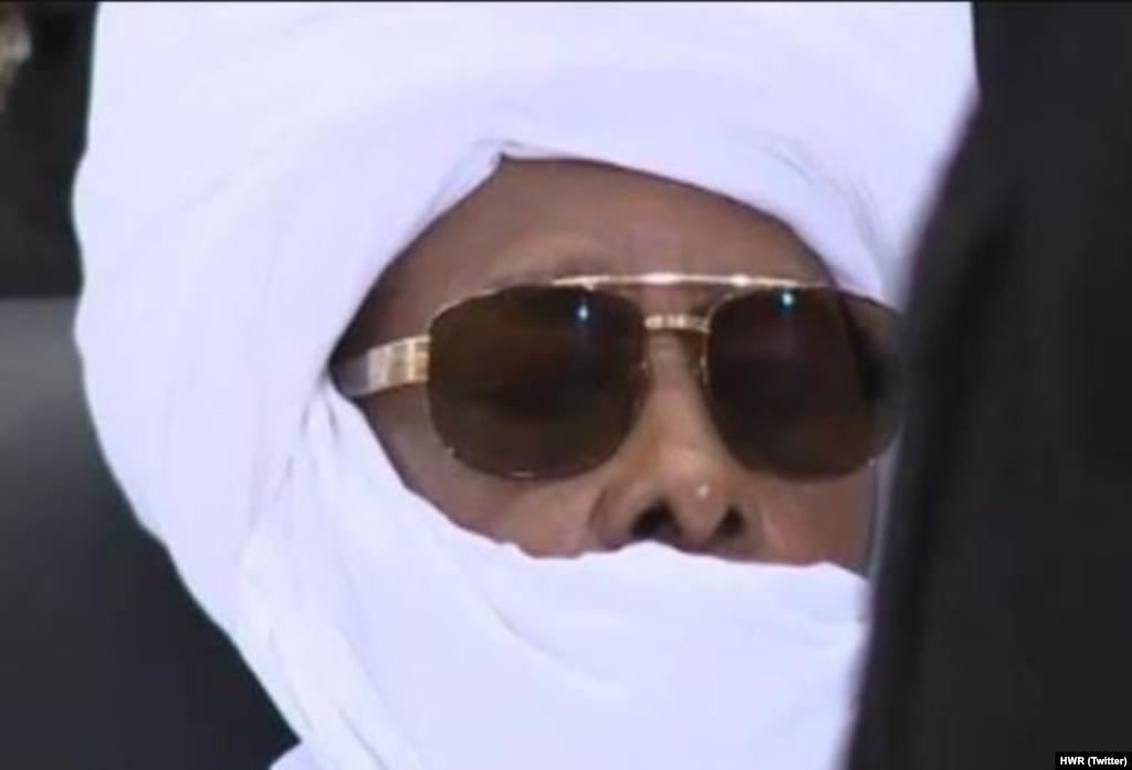 Hissène Habré, lors de son procès, le lundi 30 mai 2016.
