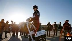 Cảnh sát Trung Quốc và các ký giả nước ngoài lại đông hơn là những người biểu tình tại điểm hẹn ở Bắc Kinh vào tuần trước