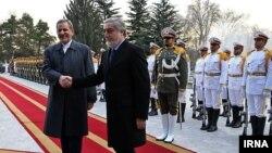 عبدالله عبدالله، رئیس اجرایی دولت افغانستان در سفر به تهران
