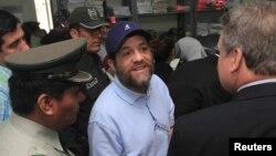 El estadounidense Jacob Ostreicher, un empresario de Nueva York, huyó de Bolivia y ya se encuentra en Estados Unidos.
