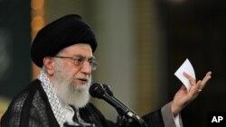 伊朗最高领导人哈梅内伊(资料照片)