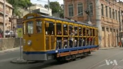 Rio's Trams Await Olympic Tourists