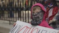 Ամերիկացիները դուրս են եկել ցույցի. Ոմանք ոգեշնչված Թրամփի ելույթից, մյուսներն էլ՝ վրդովված