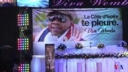 La Côte d'Ivoire rend un dernier hommage à le roi de la rumba Papa Wemba (vidéo)