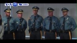 New Jersey chi 1,5 triệu đôla trang bị camera đeo trên cảnh sát (VOA60)