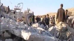 美國領導的空襲炸死敘境內14名武裝份子