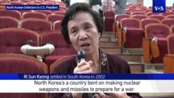 North Korean Defectors Have Message for Trump Ahead of Asian Visit