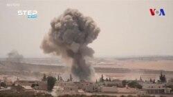 La Russie et la Syrie frappent la province d'Idlib (vidéo)