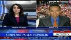 Laporan Langsung VOA untuk Metro TV: Hari Ketiga Konvensi Partai Republik