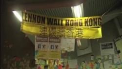 抗議者: 香港佔中運動藝術品應被保存