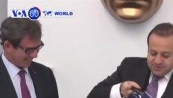 VOA國際60秒(粵語): 2013年10月23日