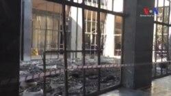Saldırılar Sonrası TBMM Binası'ndaki Yıkım