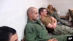 Američki vojnici - mornari u iranskom pritvoru , Jan. 13, 2016,