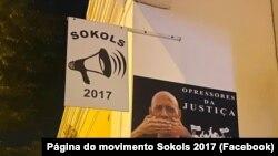Cartaz da manifestação por justiça em Cabo Verde, Sokols 2017, 17 de Setembro de 2021