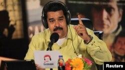 Durante su programa semanal Maduro manfiesto su agrado por las declaraciones de Estados Unidos sobre Venezuela.