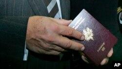 法国护照(资料照)