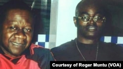 Roger Muntu and Papa Wemba