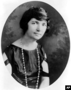 Margaret Sanger was an early advocate of oral contraceptives for women.