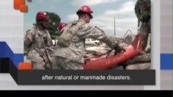 Học từ vựng qua bản tin ngắn: National Guard (VOA)