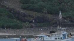 日本一個調查團抵達釣魚島