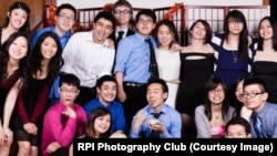 Chinese American Student Association members at Rensselaer Polytechnic Institute in Troy, New York