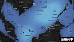 位于南中国海南沙群岛的太平岛
