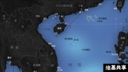 南中国海及周边国家(维基共享)