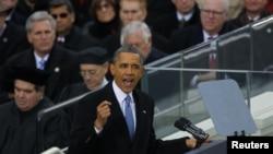Prezident Barak Obamanın ikinci inaqurasiyası