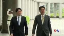 日本防務相:中國在日本附近單方面加速軍事活動