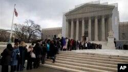 Верховный суд США. Вашингтон, 27 февраля 2013г.