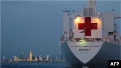 Tàu bệnh viện USNS Mercy sẽ ghé Việt Nam
