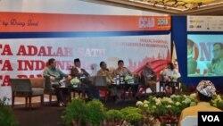 Dialog Nasional, Aplikasi Kehidupan Berbhinneka di Hotel Pullman, Jakarta hari Selasa (8/5) (Foto: VOA/Fathiyah)