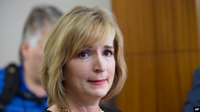 FILE- Harris County (Texas) District Attorney Devon Anderson, shown in August 2015, on Monday announced a grand jury had indicted two anti-abortion activists who made undercover videos alleging Planned Parenthood illegally sold fetal tissue to researchers for a profit.