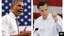 Барак Обамa и Митт Ромни