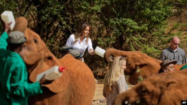 Melania Trump Visits Kenya